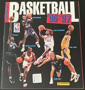 Panini NBA Basketball 96/97 1996 Sticker Album Book - Empty Unused