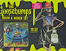 The Goosebumps Book & Boxer Shorts Pack (Goosebumps Special Edition) NIB