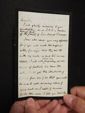 Henry Drummond (1851-1897) - Autograph Letter Signed
