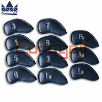 For Cobra Ping Golf Iron Covers Headcovers PU Leather Club protector Craftsman