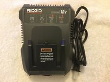 New Ridgid 18 Volt 18V R86092 Dual Chemistry Lithium Ion Battery Charger