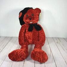 "PBC Singing Bear 22"" Valentine Caruso Red Black Hat 'So Happy Together' Works"