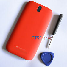 Middle Panel+Back Battery Housing Case Cover For HTC One SV 4G LTE+Buttons Red