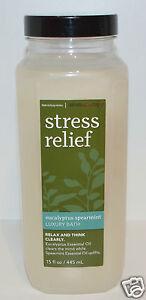 Bath & Body Works Stressabbau Eukalyptus Grüne Minze Luxus Bad Öl Bubble Soak