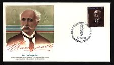 FLEETWOOD CANADA FDC 877 EMMANUEL-PERSILLIER LACHAPELLE, FOUNDER OF NOTRE DAME
