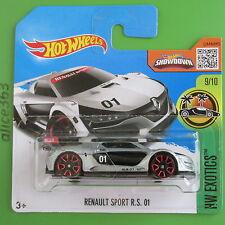Hot Wheels 2016-Renault Sport R.S. 01 plata-HW Exotics - 79-nuevo en caja original