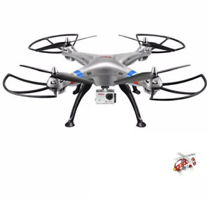 Syma X8G Headless 2.4Ghz 4CH RC Quadcopter with 8MP HD Camera $170 On Amazon !!