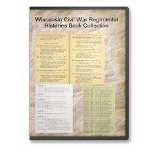Wisconsin WI Civil War Regiment Genealogy Volunteer Rosters 29 Book Set - B505