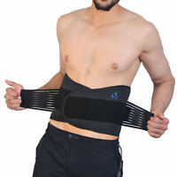 Back Support Belt Brace.20 Magnet Lower Back.Double Pull Pain Relief