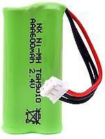 BATTERY NIMH 2.4V 600MAH 2XAAA Batteries Rechargeable - CM85055