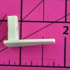 IKEA Vidga L Shaped Triangle With Set Pin White Replacement Part Piece Hardware