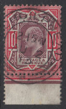 VAR311 10d Dull Reddish Purple & Carmine M44 (6)  in VFU dated Lochgilphead CDS