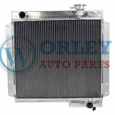 62MM 3 core aluminum radiator for TOYOTA Land Cruiser FJ40 FJ45 Petrol manual