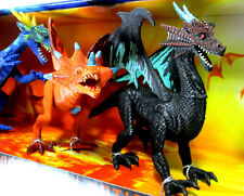 Dragon Action 6-Pack by Kid Galaxy Fantasy Play Figurines