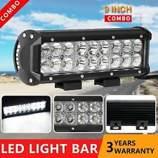 9inch 90W CREE LED Light Bar Spot Flood Offroad Work Driving Lamp 4WD Reverse