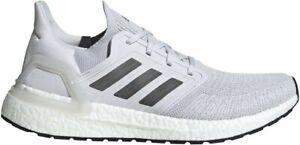 NEW Adidas ULTRABOOST 20  EG0694 Light Grey Running Shoes For Mens - Ultra Boost