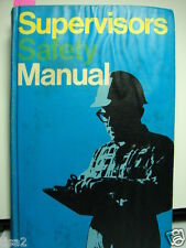 1967 NATIONAL SAFETY Manual ASBESTOS Dust Protection WELDING & Industrial Uses