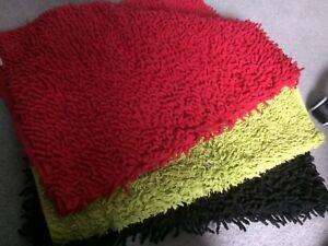 3 x bath mats