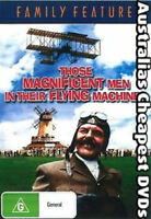 Those Magnificent Men In Their Flying Machines DVD NEW, FREE POST IN AU REG ALL