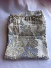 2 Tommy Bahama Tropical Paisley Floral King Pillow Sham Gray Taupe 21829