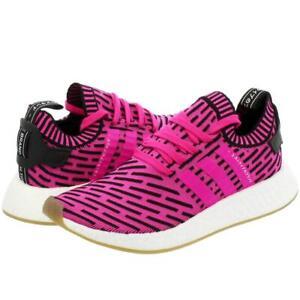 adidas originals Trainers NMD R2 Primeknit PK Japan Pink Sports Shoes UK 5.5