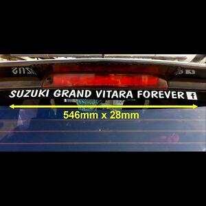 SUZUKI GRAND VITARA FOREVER FACEBOOK VINYL DECAL STICKERS CUSTOM MADE