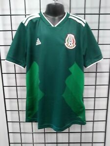 adidas 2018 WORLD CUP MEXICO YOUTH HOME JERSEY (BQ4696) SIZE YM