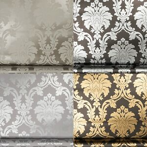 Arthouse Traditional and Retro Vintage Floral Damask Metallic Quality Wallpaper