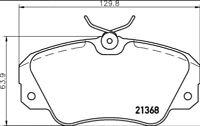 MINTEX FRONT BRAKE PADS MDB1540 VAUXHALL OMEGA Senator Lotus Carlton 2.2 2.5 3.0