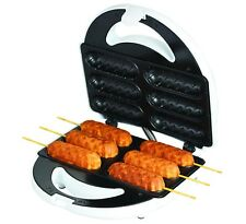 Corn Dog Maker Kitchen Breakfast Cooking Machine Snacks Cook Milk Cookie Shot