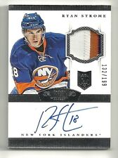 2013-14 Rookie Anthology RYAN STROME  Dominion Rookie Patch Autograph #132/199