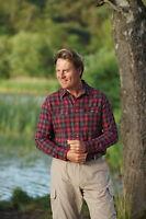 Mens Champion Kilbeggan 100% Cotton Check Shirt Sizes M-3XL Work Fishing Outdoor