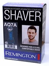 Remington AQ7A WetTech Cordless Rotary Shaver Lithium Waterproof Shower Wet/Dry
