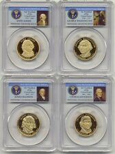 2007 S Presidential Dollar 4 Coin Proof Set PCGS PR69 DCAM $1