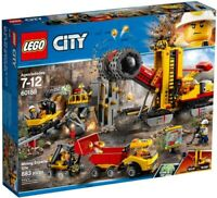 LEGO City Mining Experts Site 2018 (60188) Building Kit 883 Pcs