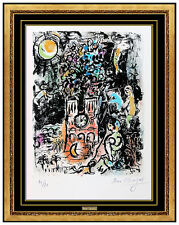 Marc Chagall Original Color Lithograph Hand Signed The Tree of Jesse Modern Art