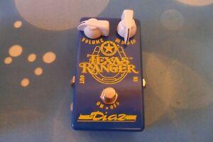 Diaz Texas Ranger SRV Rare Treble Booster Stevie Ray Vaughan
