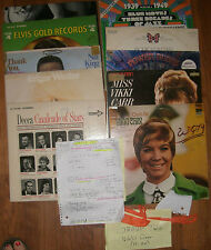 VINYL  RECORD  COLLECTION 60'S DJ PROMO COLLECTION  CAPITOL  AUDITION  Grp #2