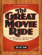 TIN-UPS Tin Sign Disney's The Great Movie Ride Hollywood Attraction Ride Poster