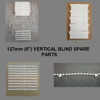"VERTICAL BLIND 127mm (5"") SPARE PARTS/REPAIR PACKS.BOTTOM WEIGHTS,CHAIN,"