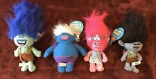 Authentic DreamWorks Licensed Trolls Toy Factory Plush Stuffed Animal Lot  -New-