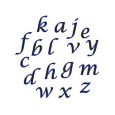 FMM Alphabet Cutter Set, Script Lower Case