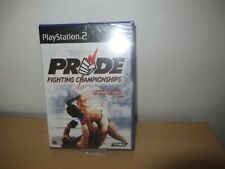 Pride Fighting Championships Sony PlayStation 2 Ps2 15 Game