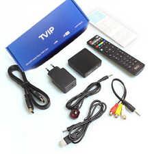 TVIP S-Box v.530 4K UHD IPTV HEVC Linux Quad Core Multimedia Stalker Internal IP