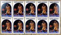 Magic Johnson 1989 NBA Hoops #270 Los Angeles Lakers 10ct Card Lot