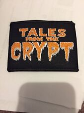 Tales From The Crypt Patch Embroidered Iron On Sewing Horror Comics Patches