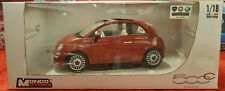 MONDO MOTORS - FIAT 500C - 1/18 - Metal Die Cast