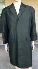 Burberry Basticks Button Down Rain Trench Coat Jacket Made In England Bootleg
