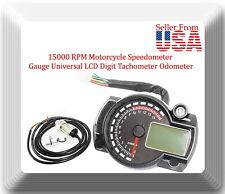 Universal Vintage Style Motorrad Roller Tachometer Kunststoff Dash Instrument Motorradinstrument