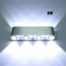 8W LED Wandlampe Led Wandleuchte Wandstrahler Flurlampe Treppenlampe up down DHL